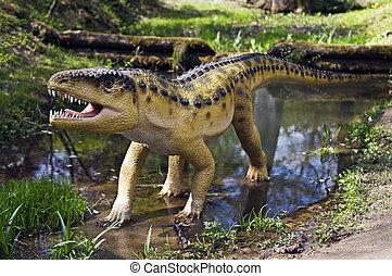 Archosaur - Prehistoric crocodile like animal Archosaur...