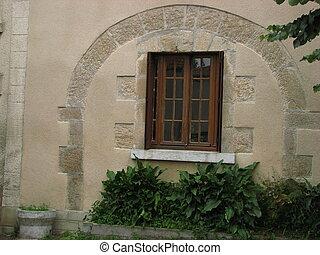 archway, window,