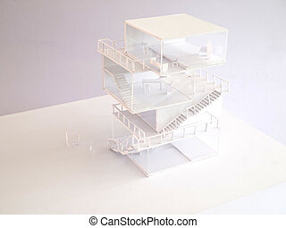arcitectural housing model