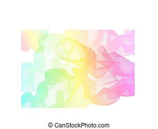 arco íris, abstratos, fundo