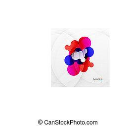 arco íris, bolhas, coloridos, abstratos, fundo