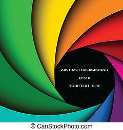 arco íris, coloridos, cor, abstratos, fundo, redemoinho