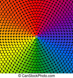 arco íris, coloridos