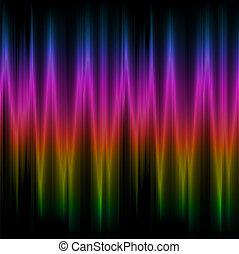 arco íris, fundo