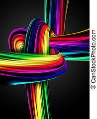 arco íris, nó