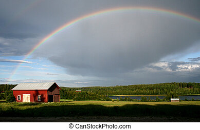 arco íris, país