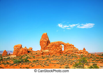 arco de la torrecilla, parque nacional, arcos