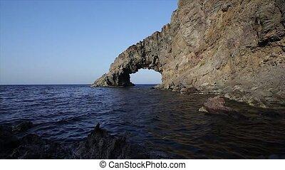 arco, dell'elefante, pantelleria