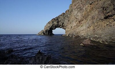 Arco dell'Elefante, Pantelleria - View of Arco dell'Elefante...