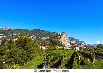 Arco di Trento - Trentino Italy - Arco di Trento, small town...
