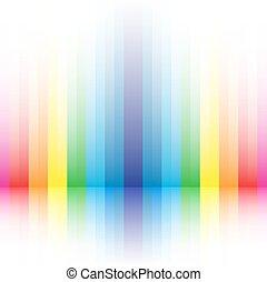 arco irirs, fondo rayado