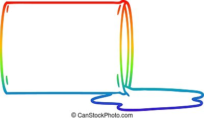 arco irirs, gradiente, dibujo, tóxico, línea, desperdicio,...