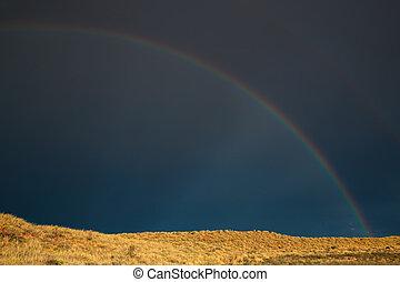 arco irirs, paisaje