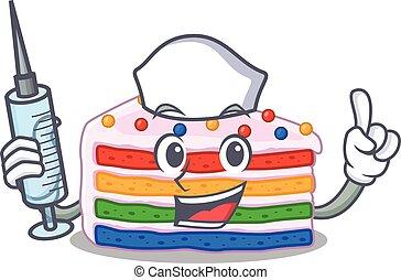 arcobaleno, 35, torta