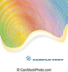 arcobaleno, astratto, fondo