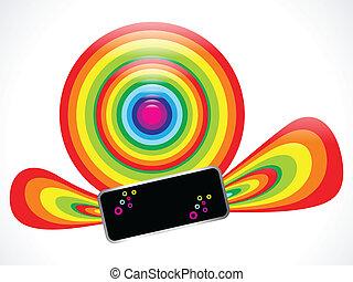 arcobaleno, astratto