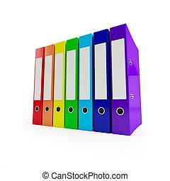 arcobaleno, cartella