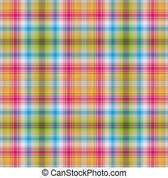 arcobaleno, checkered, seamless, modello