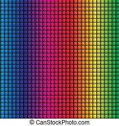 arcobaleno, colorito, -, seamless, vettore, fondo, squadre