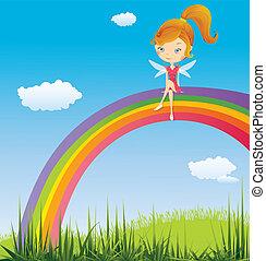 arcobaleno, fata