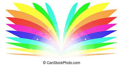 arcobaleno, libro