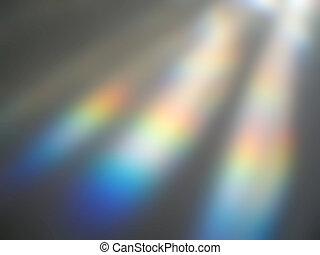 arcobaleno, offuscamento
