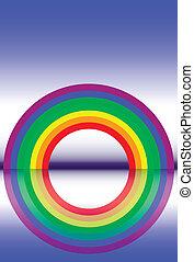 arcobaleno, riflessioni