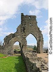 arcos, antiguo, abadía