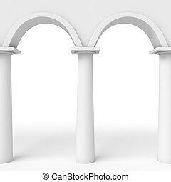 Arcs pattern