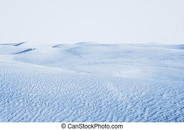 Arctic desert.