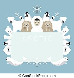Arctic Frame, Animals, People - Winter, Nature Travel and...