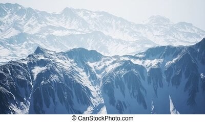 Arctic Mountains in Northern Norway - arctic mountains in...