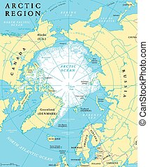 Arctic Region Map