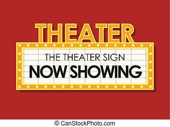 ardendo, cinema, teatro, retro, segno