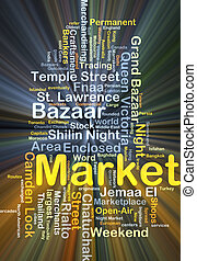 Ardendo, concetto, mercato, fondo