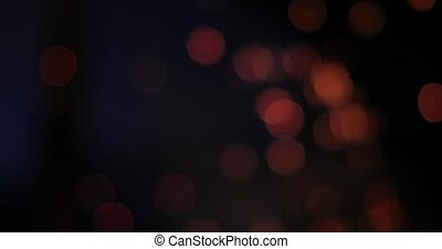 ardent, étincelles, clair, brûler, bokeh, arrière-plan noir