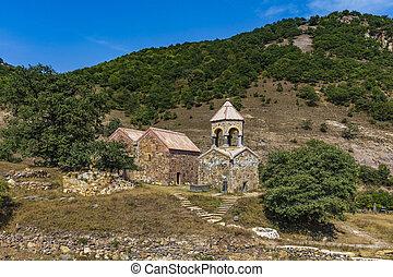 ardvi, europa, kloster, landschaftsbild, lorri, östlich, grenzstein, armenien