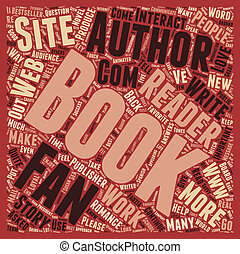 Are Readers Important To Authors text background wordcloud...
