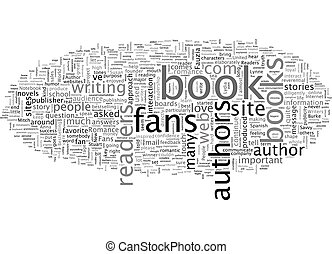 Are Readers Important To Authors text background wordcloud concept