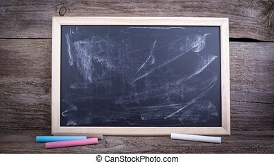 Are You Covered.Text on a chalkboard background.