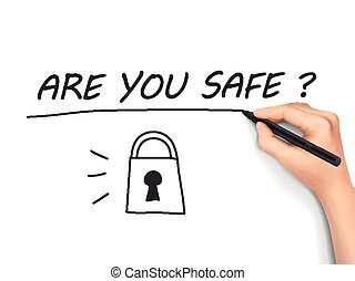 are you safe written by 3d hand