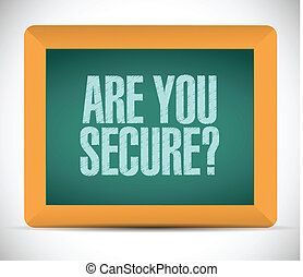 are you secure message illustration