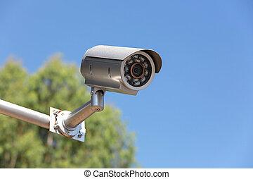 area., カメラ, cctv, セキュリティー, 公衆