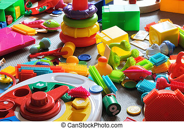 area children's toys - colorful children's play area for ...