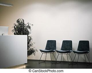 area., hivatal, vakolás, várakozás, fogadás, 3
