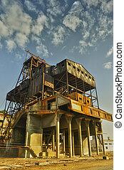 Area mine shaft, Spain