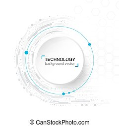 area., réseau, technologie, texte, résumé, échantillon, arrière-plan., fond, numérique, blanc, hightech, concept.