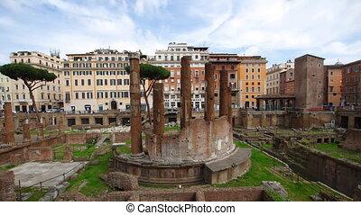 area sacra Rome - Largo di Torre Argentina, Ancient roman...
