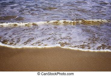 areia, bondi, ondas