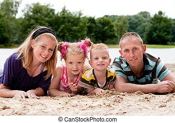 areia, família